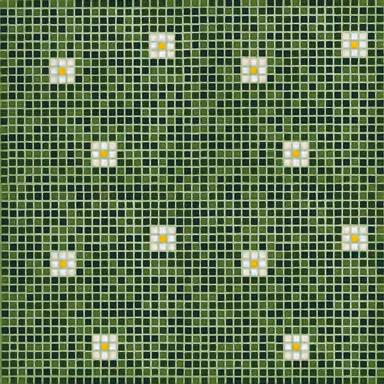 Pratoline 3 mosaic by Bisazza | Glass flooring