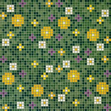 Primule 2 mosaic de Bisazza | Suelos de vidrio