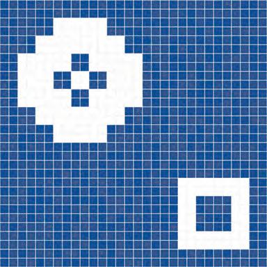 Rodi' mosaic de Bisazza | Mosaicos