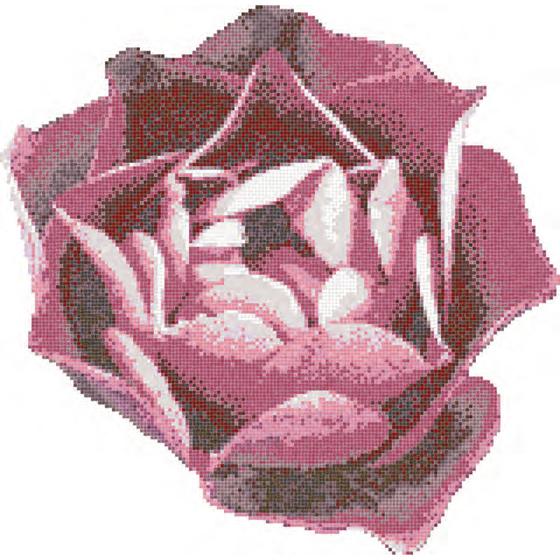 Rosa Rosa mosaic von Bisazza | Glas-Mosaike