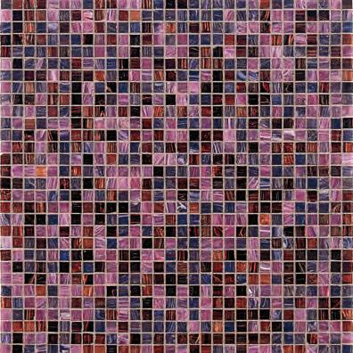 Violetta mosaic di Bisazza | Mosaici vetro
