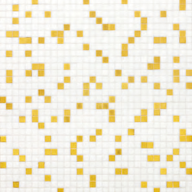 Prince White mosaic by Bisazza | Mosaics square