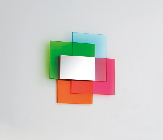 Colour on Colour by Glas Italia | Mirrors