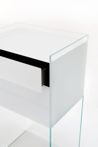 Float de Glas Italia | Mesas consola