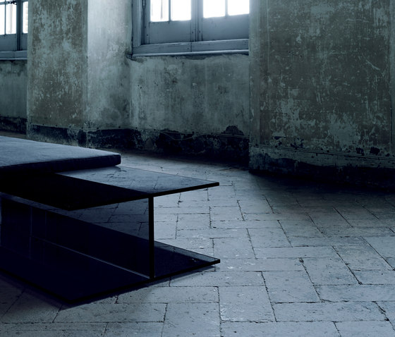 I Beam by Glas Italia | Upholstered benches