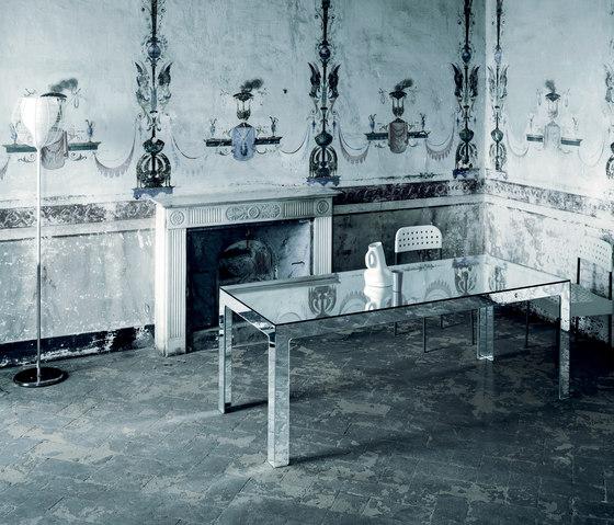 Mirror Mirror Tavolo Alto by Glas Italia | Dining tables