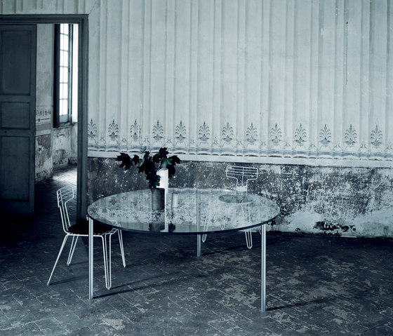 Steel by Glas Italia | Dining tables