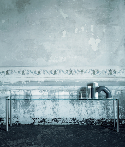 Steel by Glas Italia | Console tables