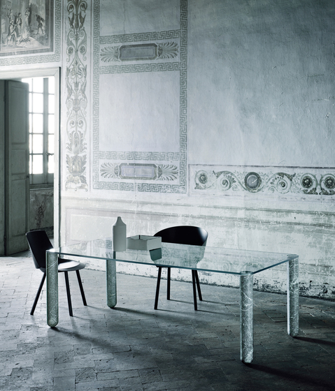 T-System by Glas Italia | Dining tables
