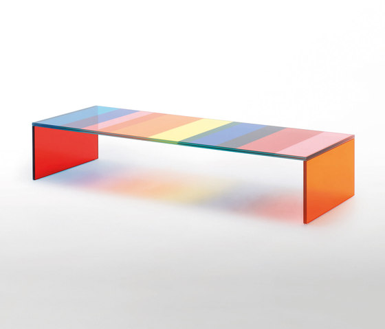 The Dark Side of the Moon by Glas Italia | Lounge tables