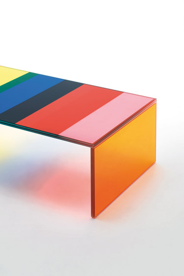 The Dark Side of the Moon de Glas Italia | Tables basses