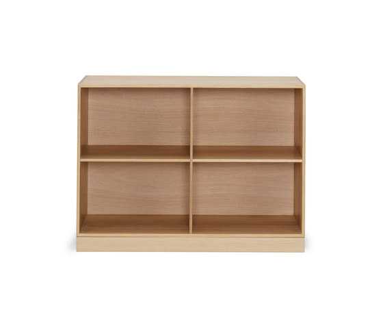 Mogens Koch 2/3 bookcase by Carl Hansen & Søn | Shelving