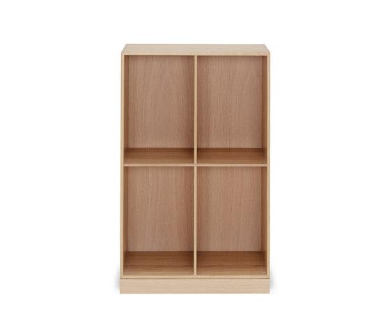 Mogens Koch 2/3 bookcase di Carl Hansen & Søn | Scaffali