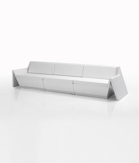 Rest sofa modular by Vondom   Garden sofas