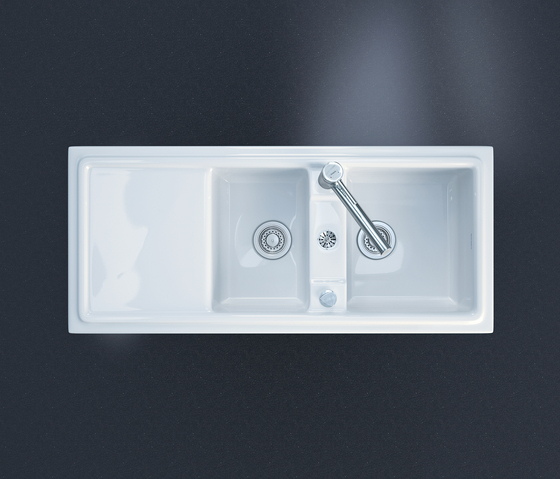 Cassia by DURAVIT | Kitchen sinks