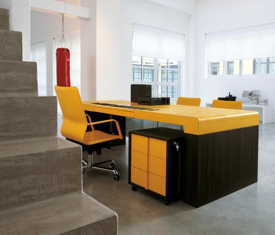 Fusion Desk de Enrico Pellizzoni | Bureaux de direction