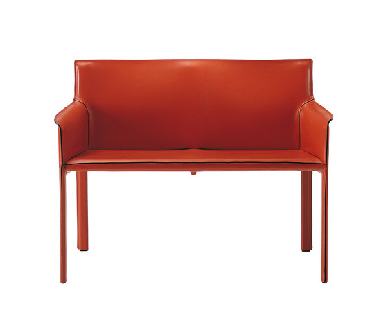 Pasqualina Small Sofa by Enrico Pellizzoni | Upholstered benches