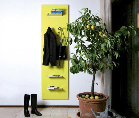 Slide 4 wall unit by Serafini | Wall storage systems