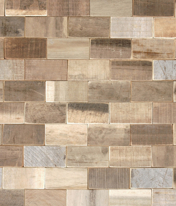 Cocomosaic envi tiles brick by Cocomosaic | Coconut mosaics