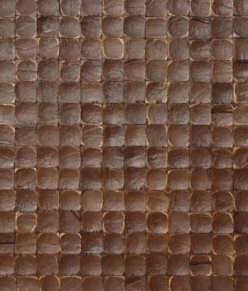 Cocomosaic tiles espresso luster 02-211 de Cocomosaic | Coconut mosaics