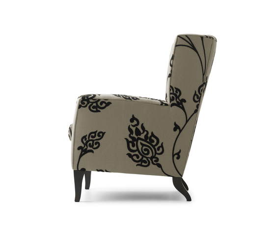 Aleeya Small Armchair by Bench | Lounge chairs