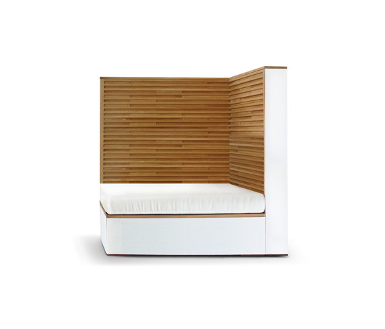 Cubic Sofa right by Deesawat | Garden armchairs