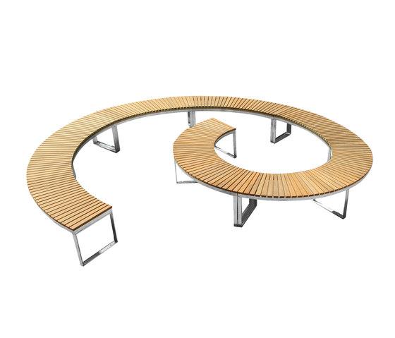 Boston Curve by Deesawat | Garden benches