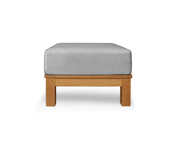 Frankfurt Single ottoman by Deesawat | Garden stools