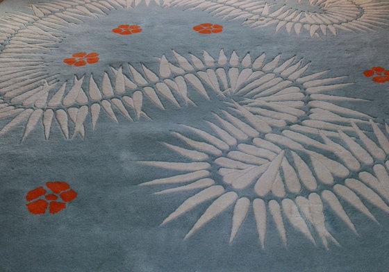 Botanica Akini di Naja Utzon Popov | Tappeti / Tappeti d'autore