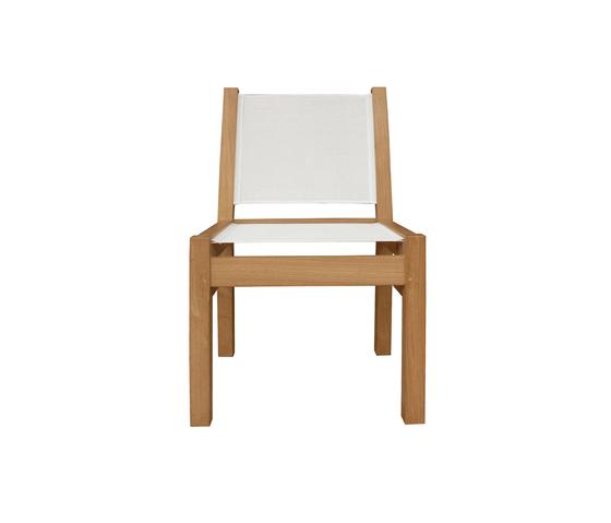 Riviera Side chair di Deesawat | Sedie da giardino