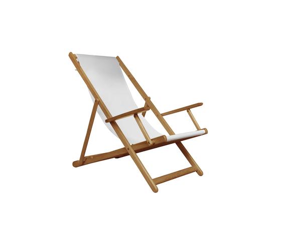 Riviera Beach chair di Deesawat | Sdraio da giardino