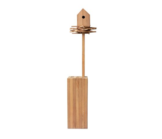 Stick up Bird house von Deesawat | Vogelhäuschen