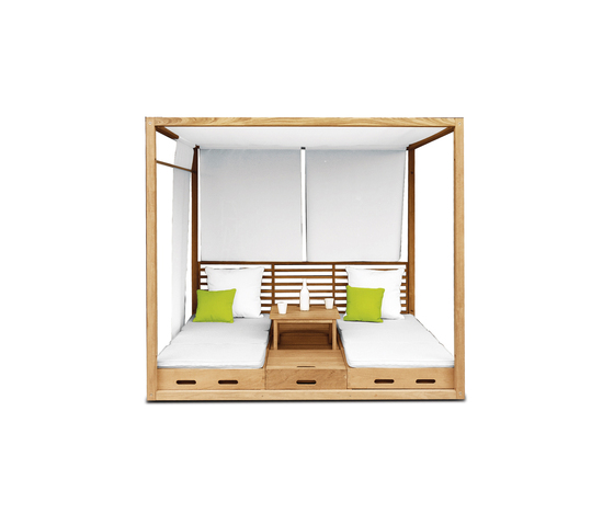 Summer Cabana Bed by Deesawat | Seating islands