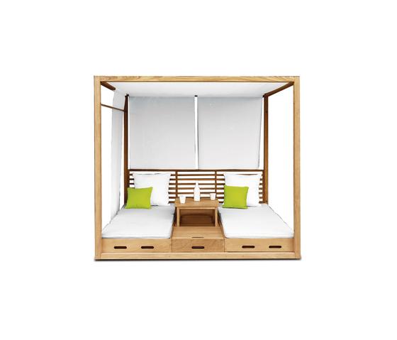 Summer Cabana Bed de Deesawat | Asientos isla de jardín