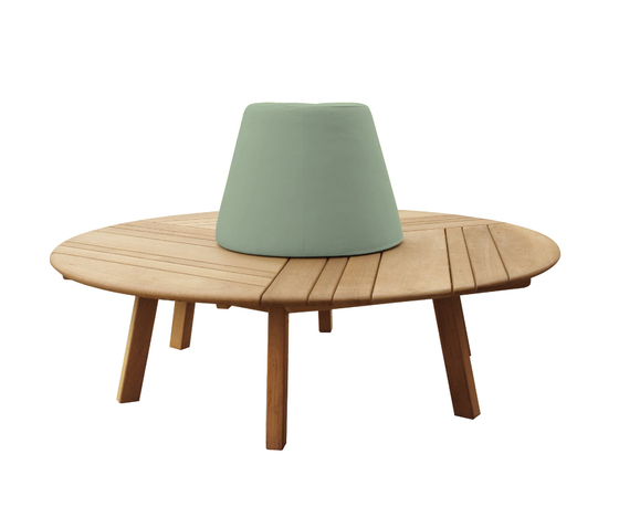 Tiera Circle bench by Deesawat | Garden benches