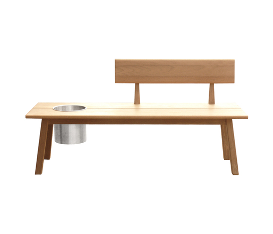 Tiera Outdoor Bench by Deesawat | Garden benches