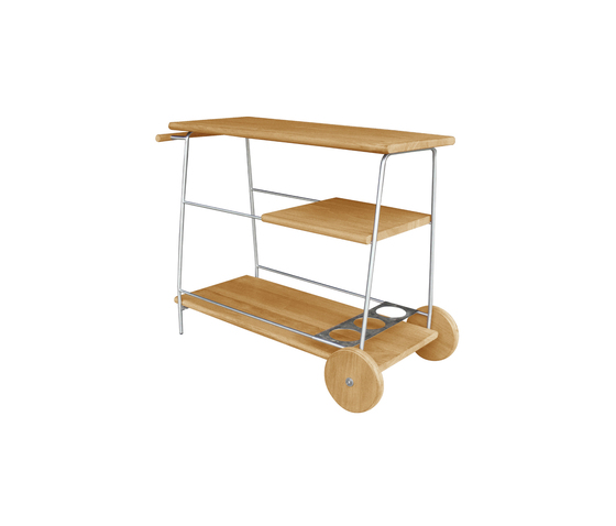 Tiera Outdoor Bar trolley di Deesawat | Carrelli bar da giardino