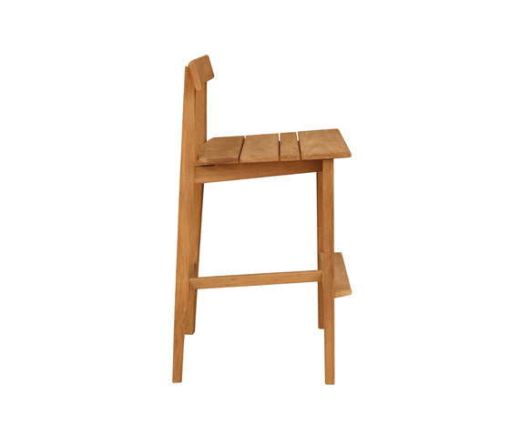 Tiera Outdoor Bar stool de Deesawat | Tabourets de bar de jardin