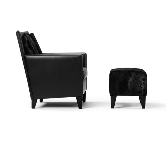 Mosa Armchair & Hocker by Bench | Armchairs