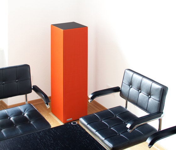 Sound Butler tbox TP30 orange by Phoneon   Sound absorbing freestanding systems
