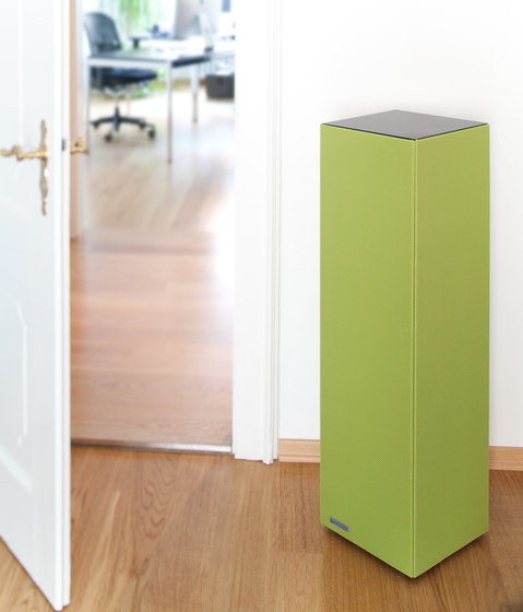 Sound Butler tbox TP30 green by Phoneon | Sound absorbing freestanding systems