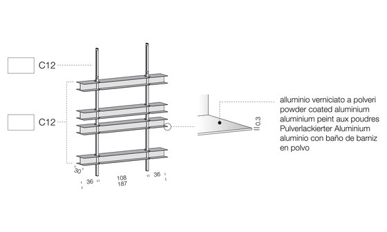 System SY10 by Extendo | Office shelving systems
