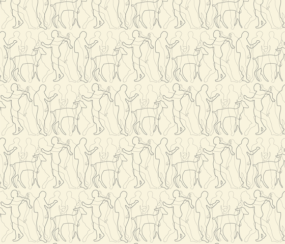 Nackt I Laufen | col2 by Sabine Röhse | Wall coverings / wallpapers
