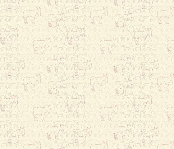 Esel & Pferde I Esel | col2 von Sabine Röhse | Wandbeläge / Tapeten