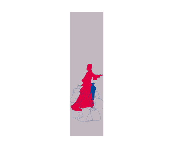 Prinzessinnen I Panneau | col1 de Sabine Röhse | Sistemas deslizantes
