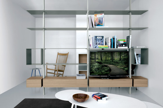 System SY02 by Extendo | Office shelving systems
