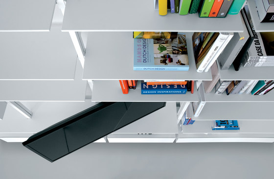 System SY01 by Extendo | Shelving