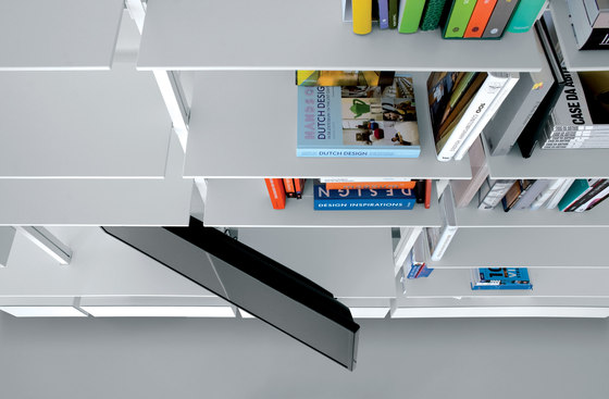 System SY01 by Extendo | Office shelving systems