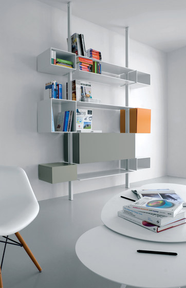 System SY04 by Extendo | Office shelving systems