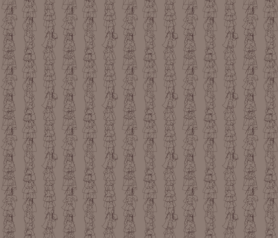 Prinzessinnen I Streifen I Fabric di Sabine Röhse | Tessuti su misura
